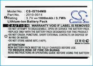 CS-IST04MB Medical Replacement Battery for IRIS