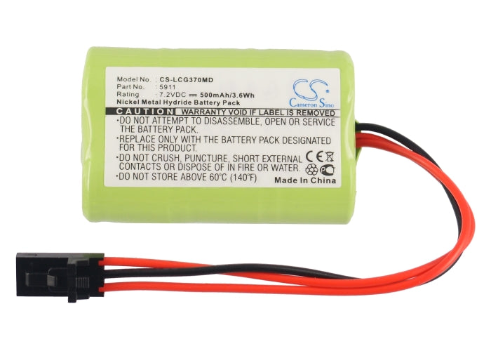 CS-LCG370MD Medical Replacement Battery for Lucas-Grayson