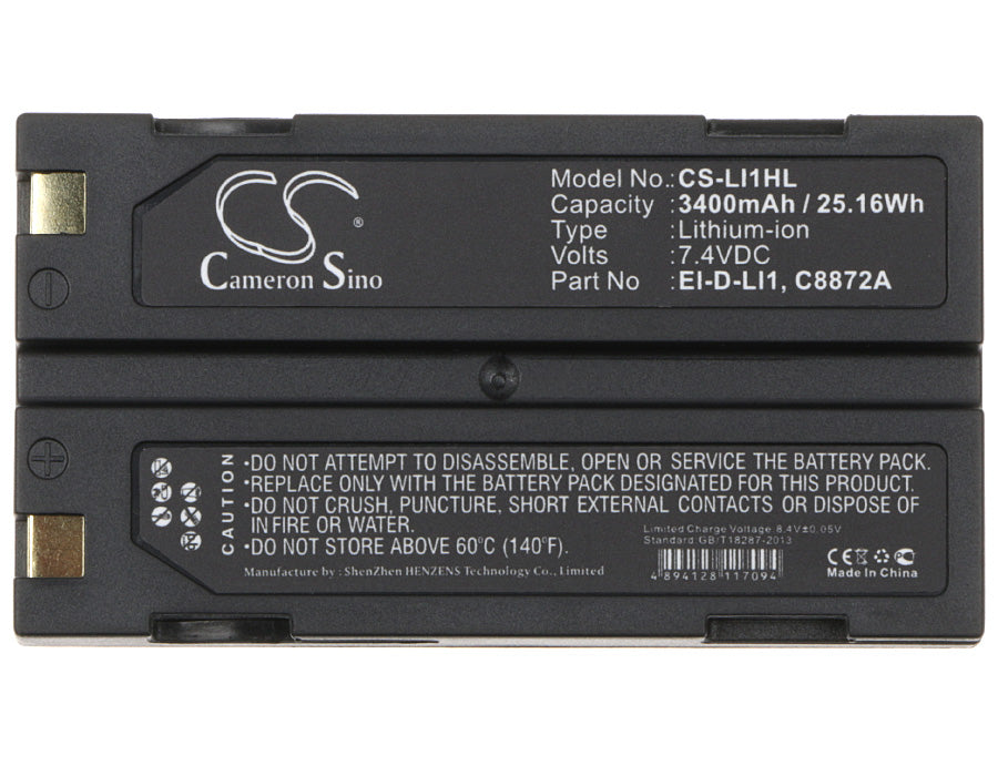 CS-LI1HL Medical Replacement Battery for BCI