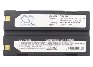 CS-LI1XL Medical Replacement Battery for BCI
