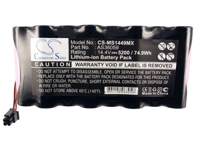 CS-MS1449MX Medical Replacement Battery for Draeger