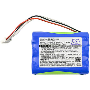 CS-NAT212MD Medical Replacement Battery for Nonnin