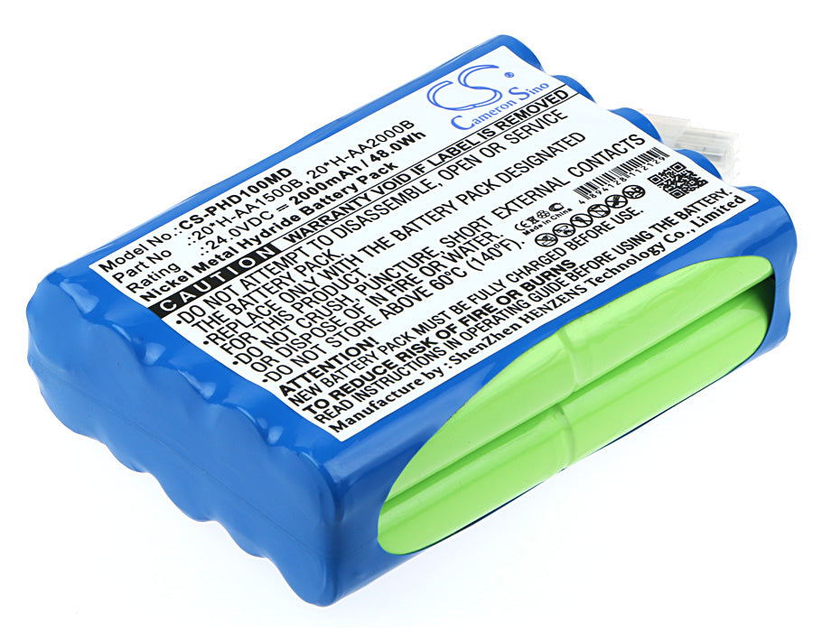 CS-PHD100MD Medical Replacement Battery for Philips