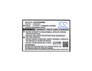 CS-RPE400MD Medical Replacement Battery for Rainin