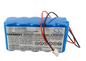 CS-SWZ506MD Medical Replacement Battery for Smiths
