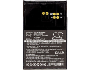 CS-VCB200MD Medical Replacement Battery for Vocera