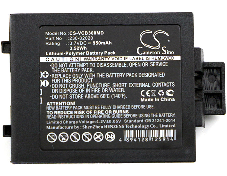 CS-VCB300MD Medical Replacement Battery for Vocera