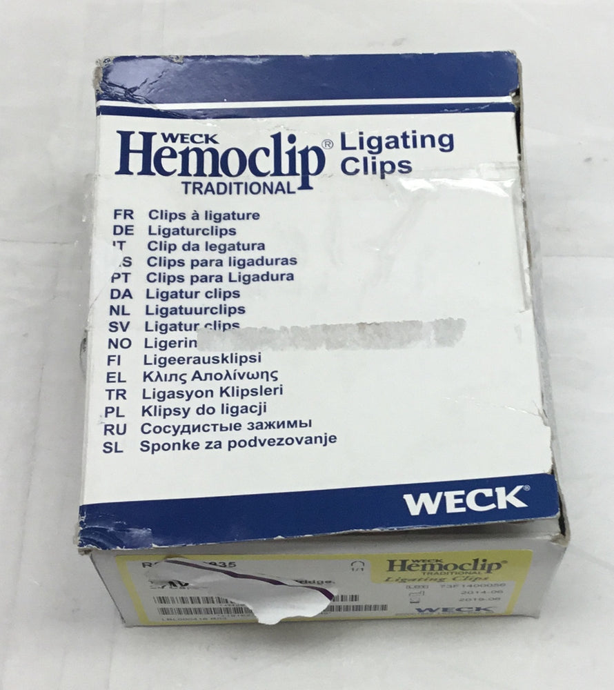 Weck Hemoclip Traditional Ligating Clip