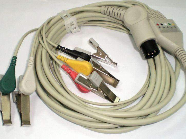 ECG Cable for Patient Monitors Five Leads