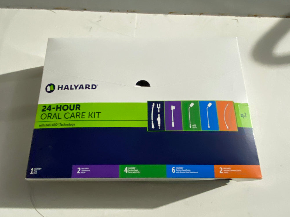 Halyard 97020 24-Hour Oral Care Kit With Ballard Technology | KeeboMed