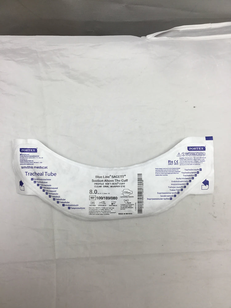 Portex Blue Line Tracheal Tube
