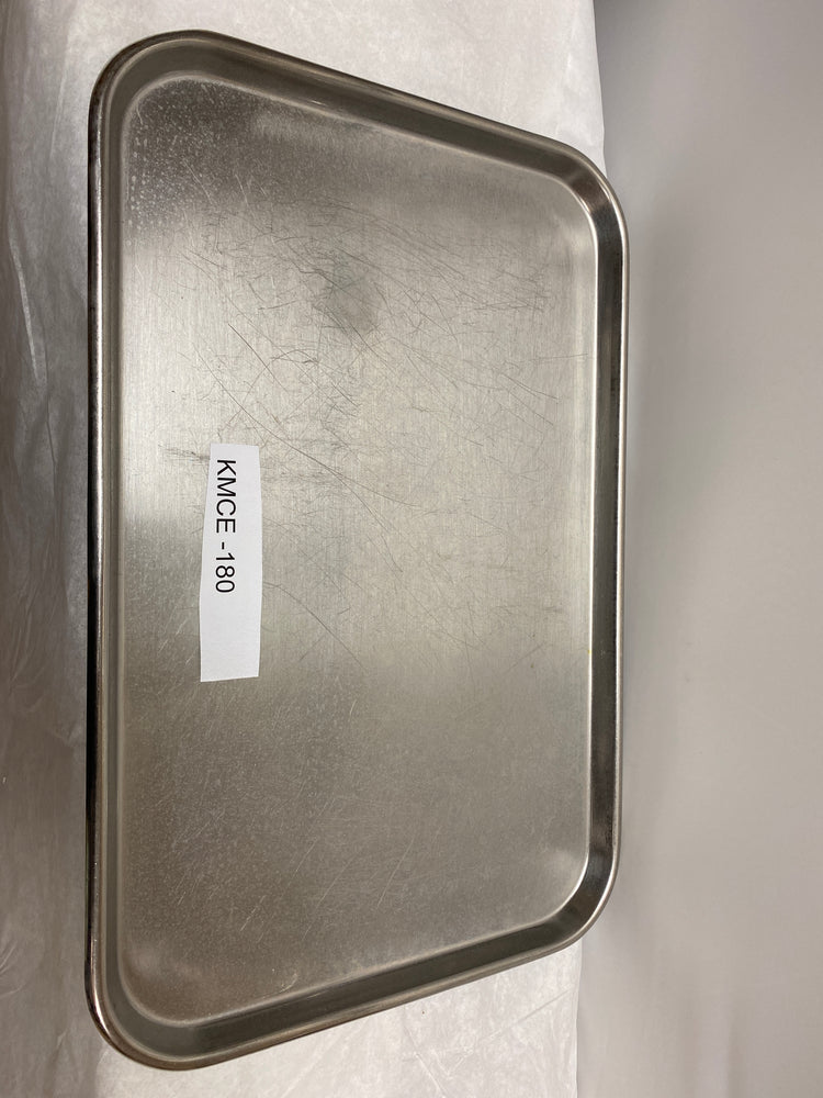 "Vollrath Stainless Steel Surgical 18"" x 12"" Tray 8019 