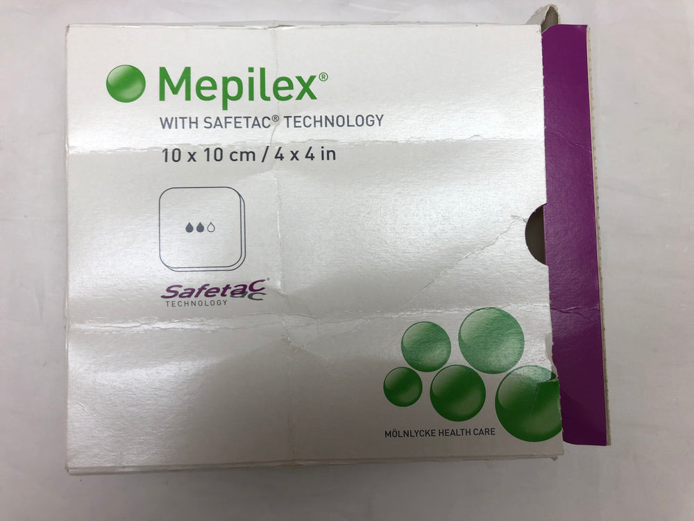 Mepilex With Safetac Technology 10 x 10 cm
