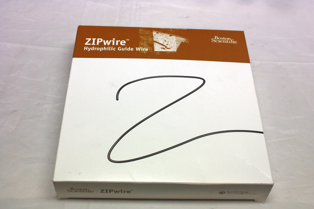 Boston Scientific ZipWire Hydrophilic Guide Wire, Angled