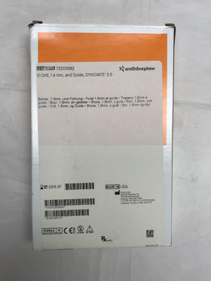 Smith & Nephew Drill, 1.6MM and guide, Dynomite 2.0