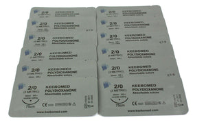 Lots of 10 Boxes - Polydioxanone PDS PDO | KeeboMed Surgical Sutures