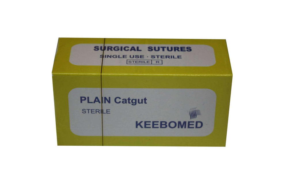 Lot of 10 Boxes - Surgical Sutures Plain Catgut | KeeboMed