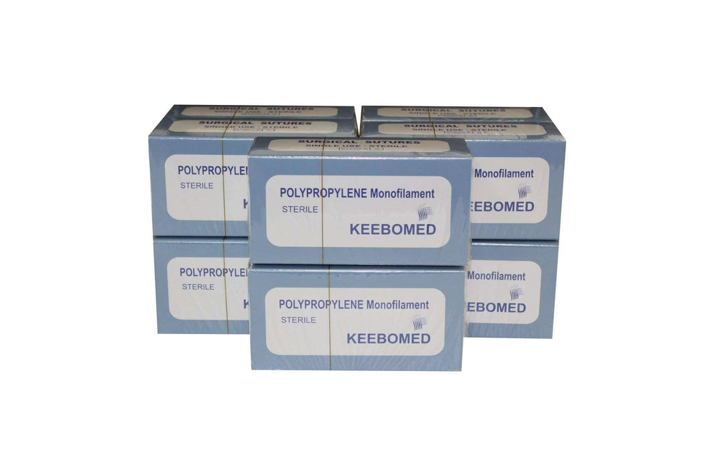 Lot of 10 Boxes - Sutures Polypropylene Monofilament | KeeboMed
