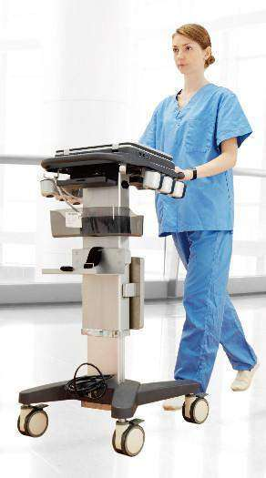 Chison Sonobook 9 Color Doppler, Very Mobile with Trolley Cart | KeeboMed