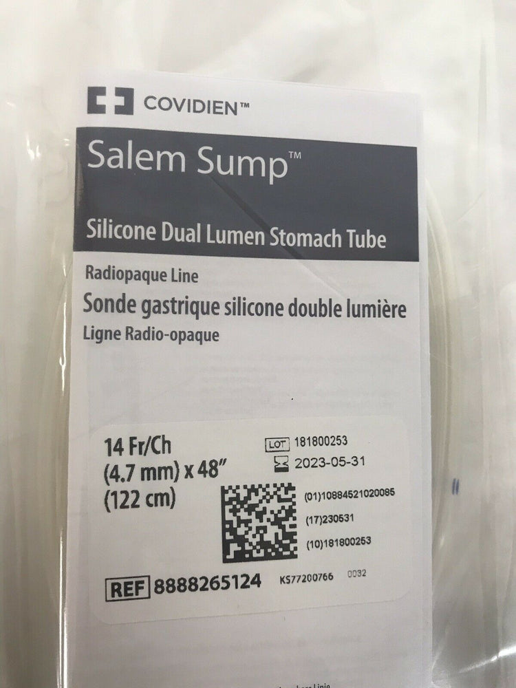 Covidien Salem Sump Dual Lumen Stomach Tube