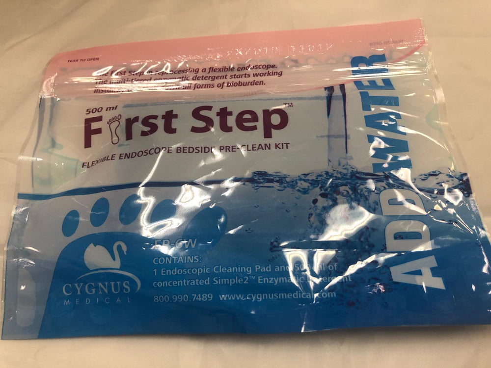 Cygnus Medical EP-6W First Step Flexible Endoscope Bedside Pre-Clean Kit | KeeboMed
