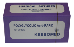 Keebomed Sutures Sutures PGAR  Polyglycolic Acid Rapid
