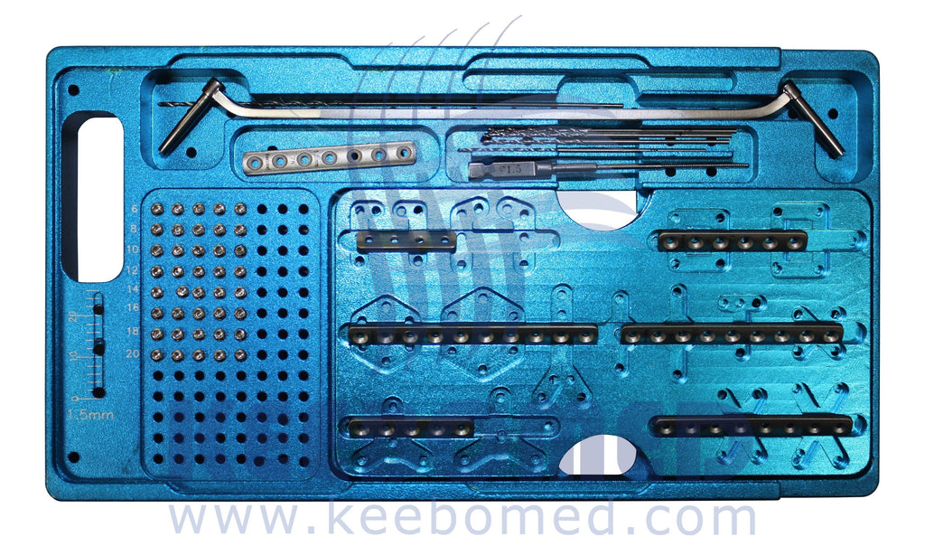 Keebomed Orthopedic Systems Micro Orthopedic System Upgraded 1.5/2.0/2.7mm