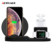 3 In 1 Fast Wireless Charger