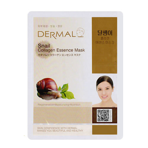 DERMAL Snail Collagen Essence Mask (10sheets)
