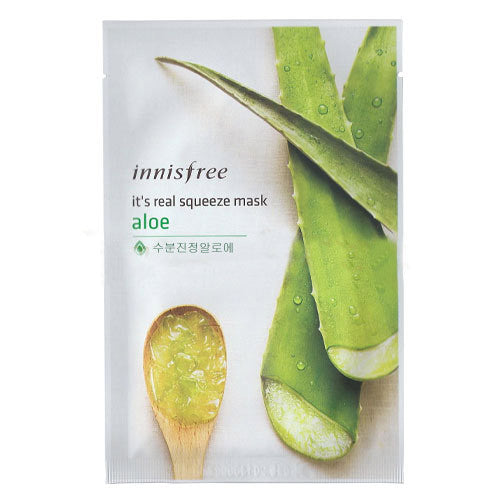 innisfree it's real squeeze mask Aloe (5ea)