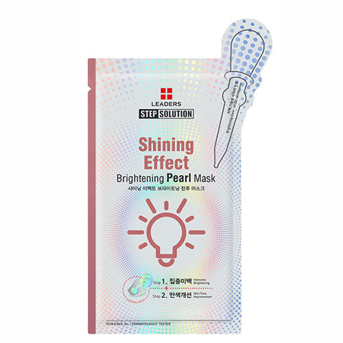 Leaders Clinic STEP SOLUTION Shinng Effect Pearl Mask