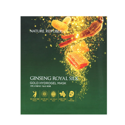 NATURE REPUBLIC Ginseng Royal Gold Hydrogel Mask