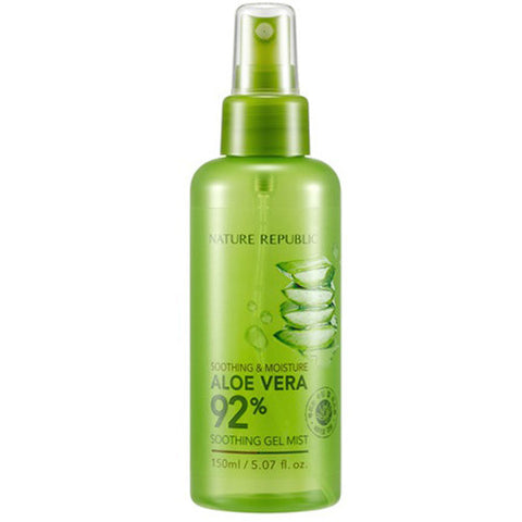 NATUREREPUBLIC Soothing and Moisture Aloe Vera 92% Soothing Gel Mist