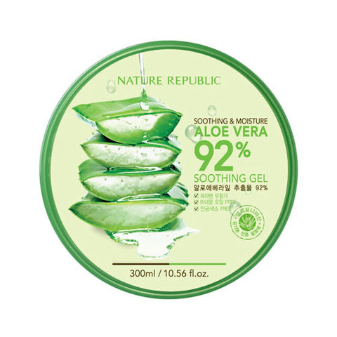 NATUREREPUBLIC Soothing and Moisture Aloe Vera 92% Soothing Gel