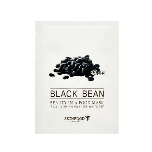 SKINFOOD Beauty in a Food Mask Sheet (BLACK BEAN)