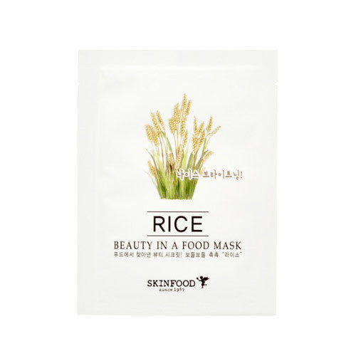 SKINFOOD Beauty in a Food Mask Sheet (RICE)