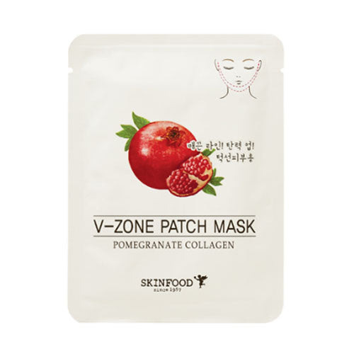 SKINFOOD Pomegranate Collagen V-Zone Patch Mask