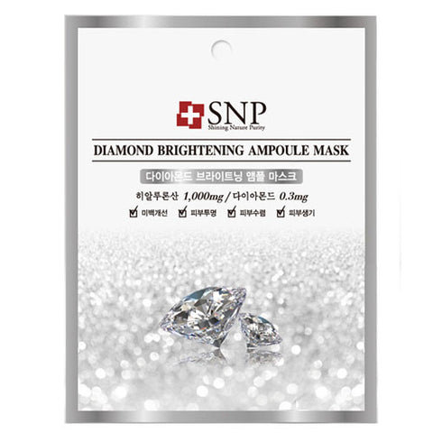 SNP Diamond Brightening Ampoule Mask (1ea)