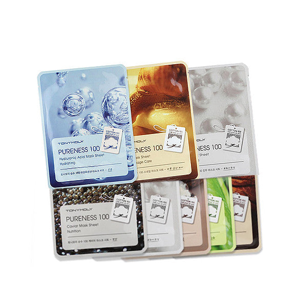 TONY MOLY Pureness 100 Mask Sheet (5sheets)