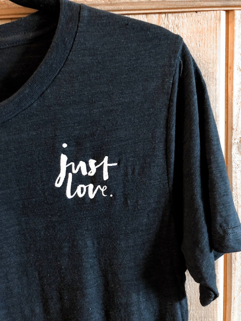 *Just Love Embroidered casual tee