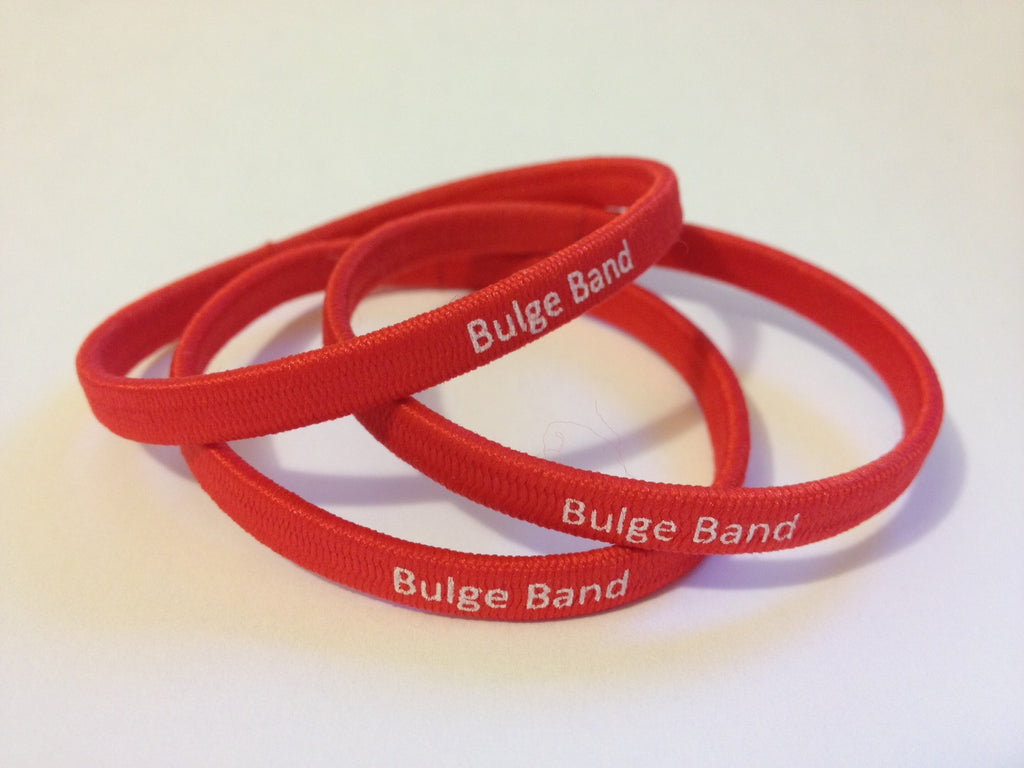 The Bulge Band™ Red Edition - 3pk
