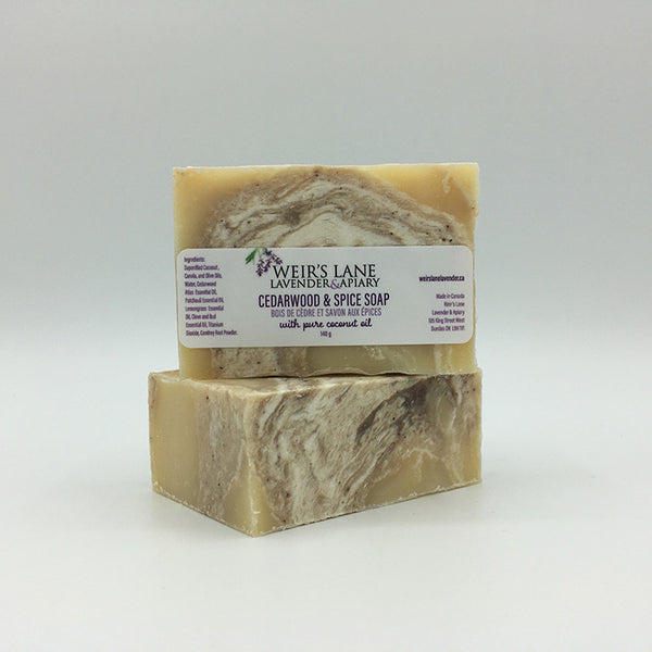 Cedarwood and Spice Soap