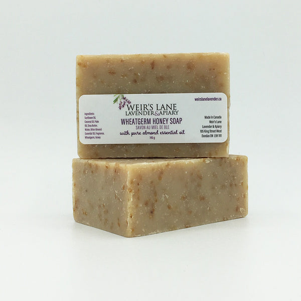 Wheatgerm & Honey Soap