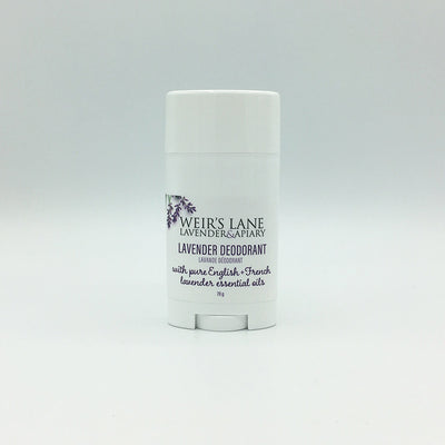 Deodorant with French and English Lavender
