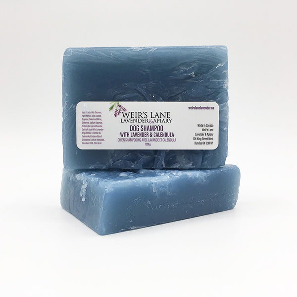 Dog Shampoo Bar with English Lavender