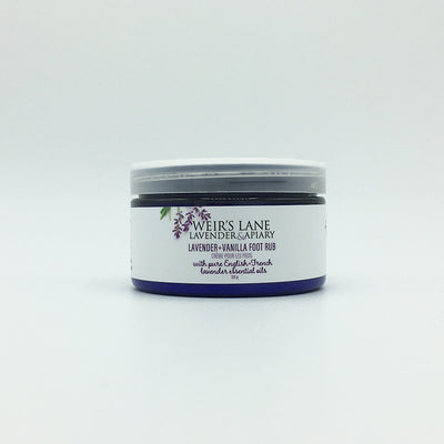 Foot Rub with English and French Lavender & Vanilla