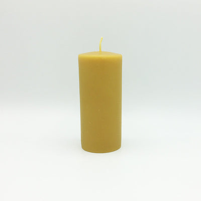 "Beeswax Candles: Smooth Pillar, 2.4""x5"" Column"