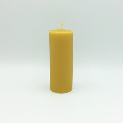 "Beeswax Candles: Smooth Pillar, 2""x5"" Column"