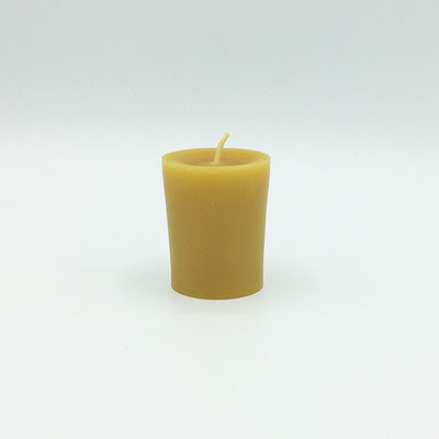 Beeswax Candles: Votive, Plain