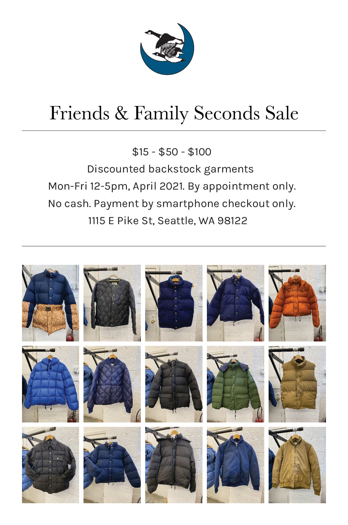 Friends and Family Sale Flyer